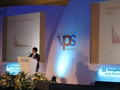 Dr. Yamamoto at the conference